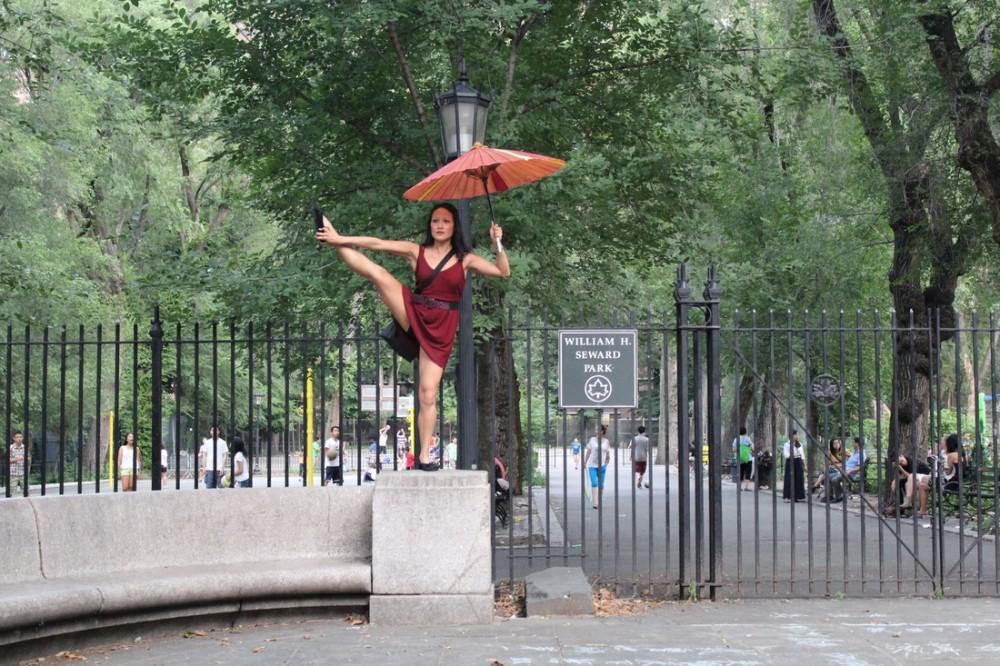 "Kim Rios Lin in ""Broken City: Lower East Side."" Photo Credit: Ana Margineanu."