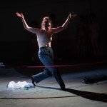 "Anna Barker performing in Vector's ""Habitus"" stage show in North Carolina.  Photo Credit: Tim Walter."
