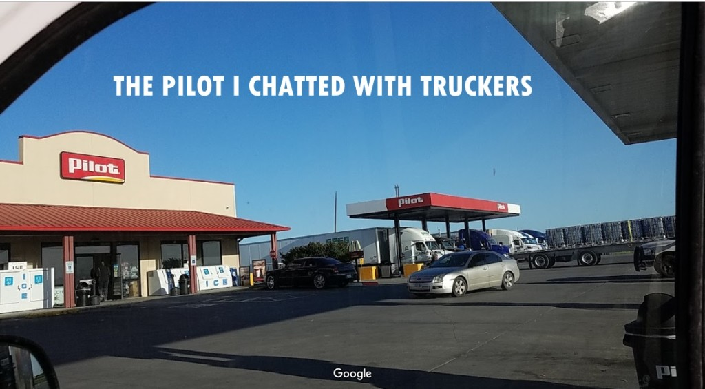 Picture of a Pilot gas station